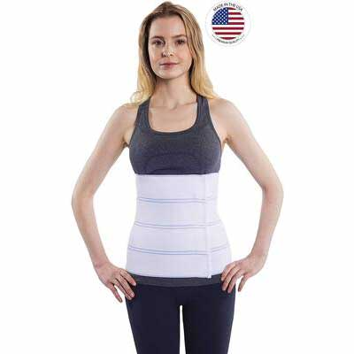 #9. NYOrtho Lower Waist Abdominal Binder Support Belt for Men and Women