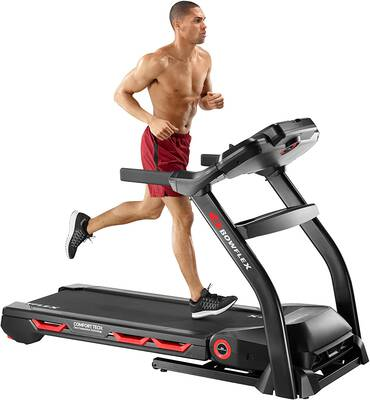 #1. Bowflex BXT116 7.5 Inches LCD Screen Bluetooth Connectivity 9 Intuitive Workout Programs Treadmill