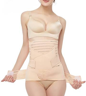 #6. Gepoetry Recovery Belly Wrap Postpartum Support Body Shaper