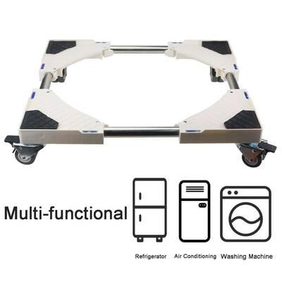 #8. Ogrmar Adjustable Telescopic Furniture Dolly Roller 8 Swivel Wheels for Dryer Washing Machine