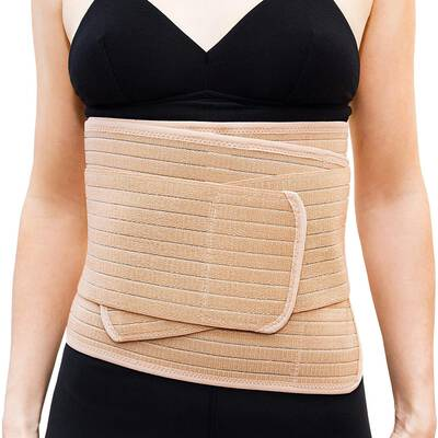 #1.Emma + Ollie Postpartum Belly Band Belly Wrap for Weight Loss