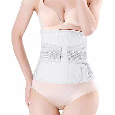 #10. Moolida C Section Postpartum Belly Wrap Waist Shapewear